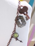 keyhole key charms