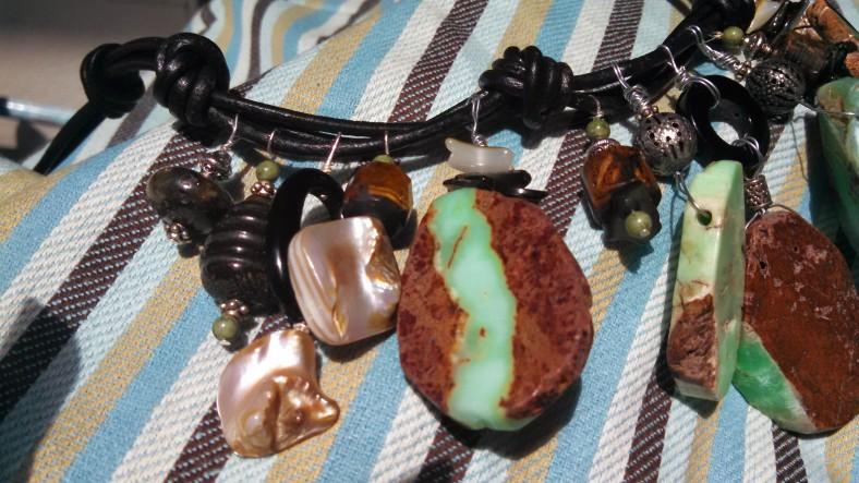 mint chip necklace