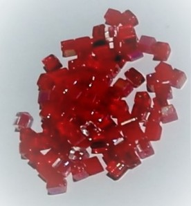 4mm cube beads