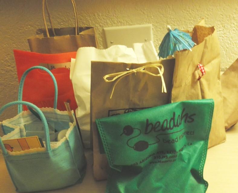 treasure bags