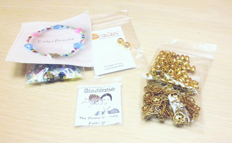 bracelet and charm